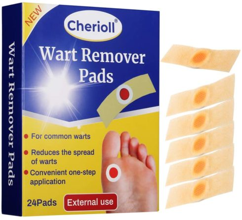1,Wart Remover, Wart Removal Plasters Pad