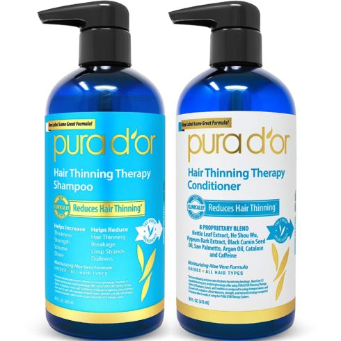 2. PURA D'OR Hair Thinning Therapy System